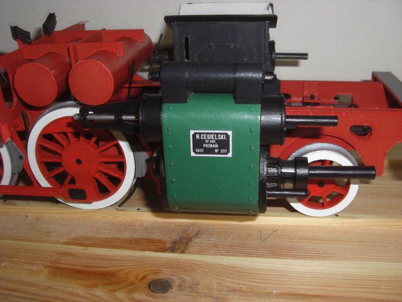 Fertig - Lokomotive HCP 1-6-2 Bulgar Modelik 1:25 von Lothar - Seite 3 09810