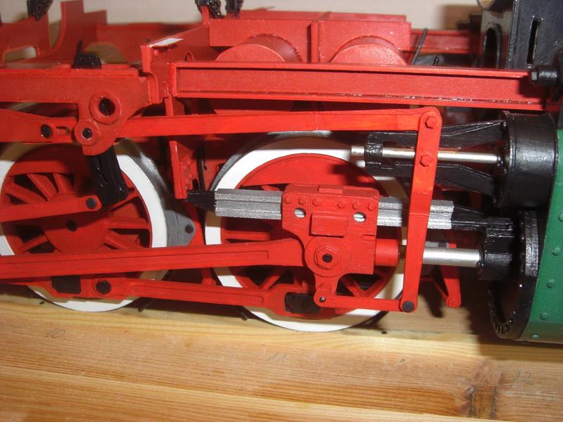 Fertig - Lokomotive HCP 1-6-2 Bulgar Modelik 1:25 von Lothar - Seite 3 11110