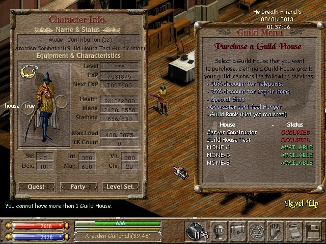 Guild House System Helsho17