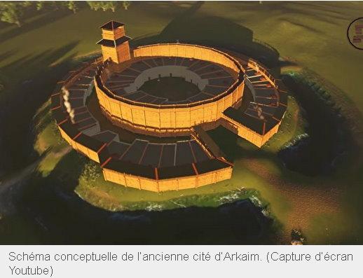 La grande connaissance astronomique de l'ancienne cité d'Arkaim, vieille de 5000 ans Arkaim10