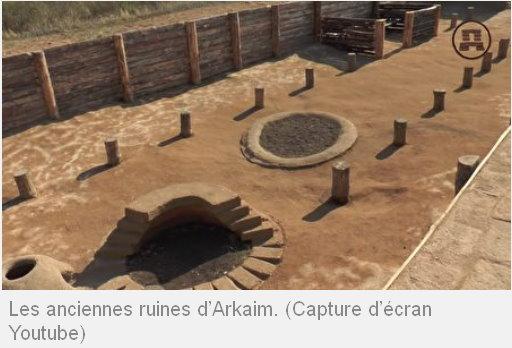 La grande connaissance astronomique de l'ancienne cité d'Arkaim, vieille de 5000 ans Arkaim13