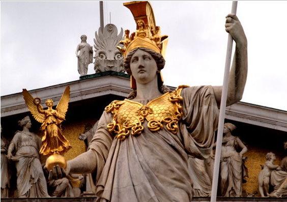 l'humanité s'est détournée de Pallas Athéna – déesse de la sagesse – pour ne plus connaître que son symbole : la chouette. Pallas11