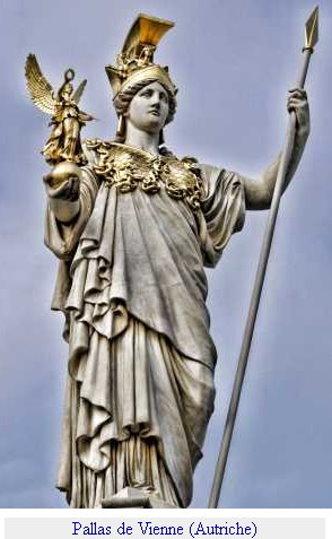 l'humanité s'est détournée de Pallas Athéna – déesse de la sagesse – pour ne plus connaître que son symbole : la chouette. Pallas12