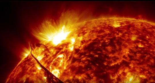 Observation du soleil sur 5 ans Soleil12