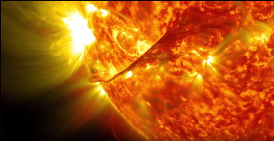 Observation du soleil sur 5 ans Soleil26