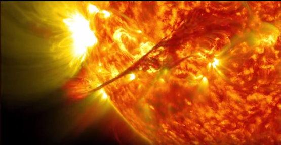 Observation du soleil sur 5 ans Soleil27