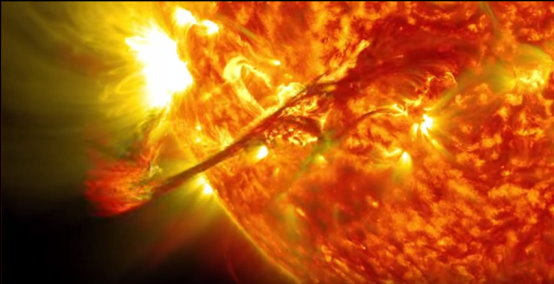 Observation du soleil sur 5 ans Soleil28