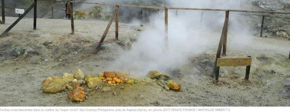 """Italie : l'activité d'un """"super volcan"""" inquiète la région de Naples Volcan10"""