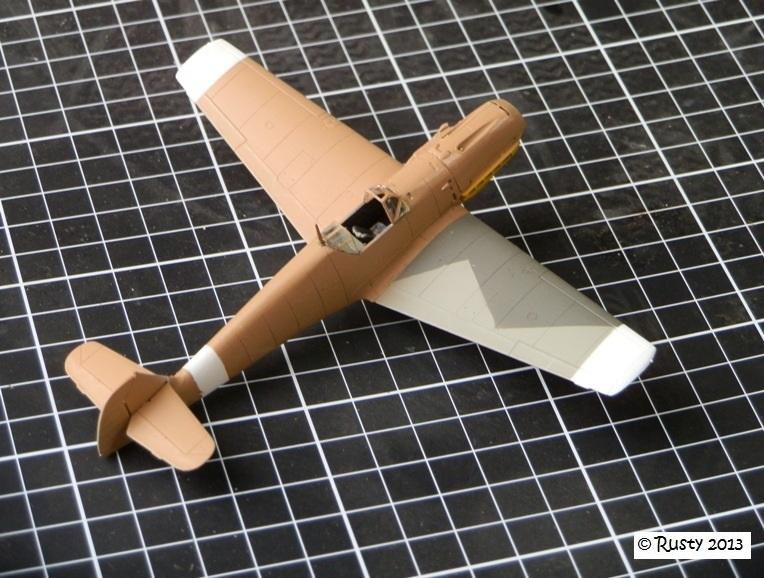 Messerschmitt Bf109E-7 Trop [ICM 1/72] P8033116