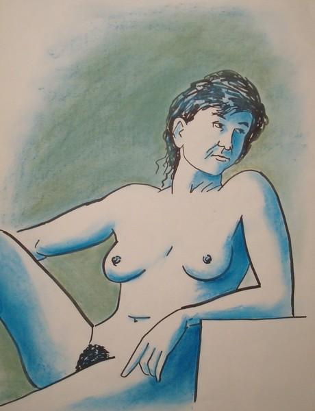 Les nus Modele10