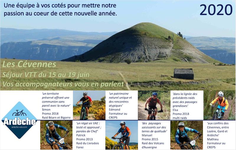 """Raid VTT 2020 """"Les Cévennes"""" Captu146"""