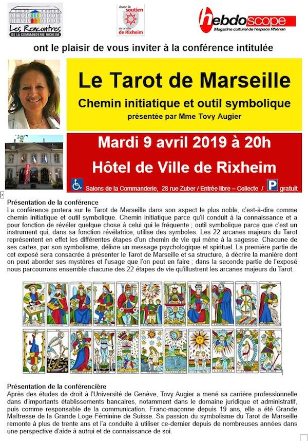 "Rencontres de la Commanderie : ""Le Tarot de Marseille"" Invit_15"