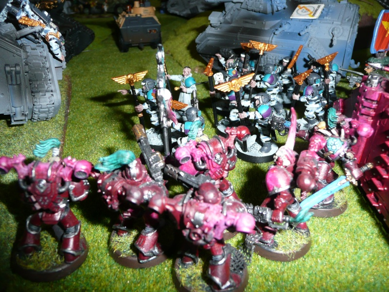 Garde Impériale vs Chaos v6 P1030739