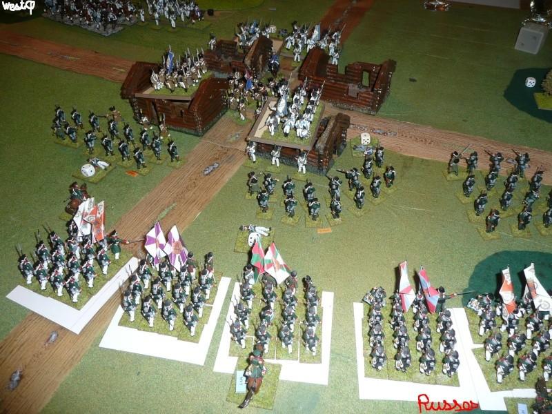 Bicentenaire campagne 1812 - contre attaque russe à Kaslékouyé P1070343