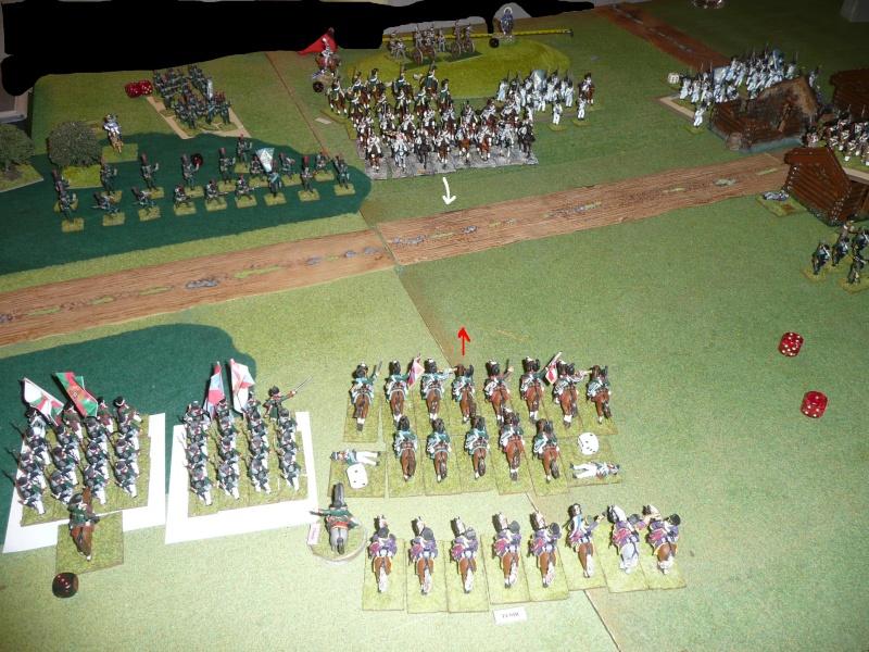 Bicentenaire campagne 1812 - contre attaque russe à Kaslékouyé P1070344