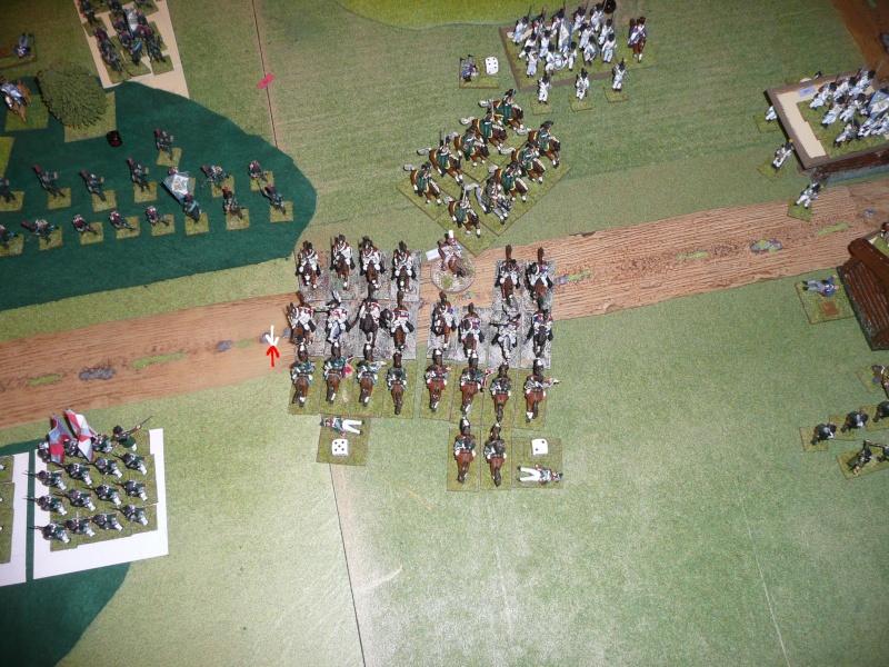 Bicentenaire campagne 1812 - contre attaque russe à Kaslékouyé P1070348