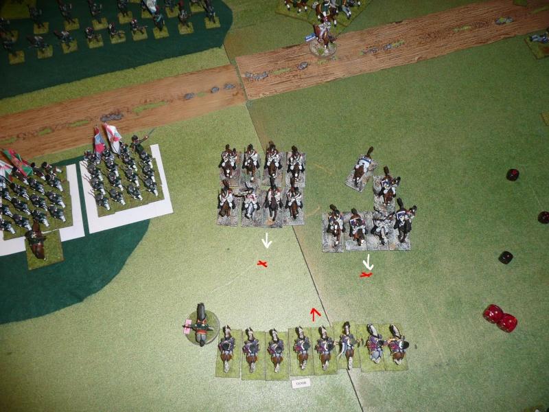 Bicentenaire campagne 1812 - contre attaque russe à Kaslékouyé P1070349