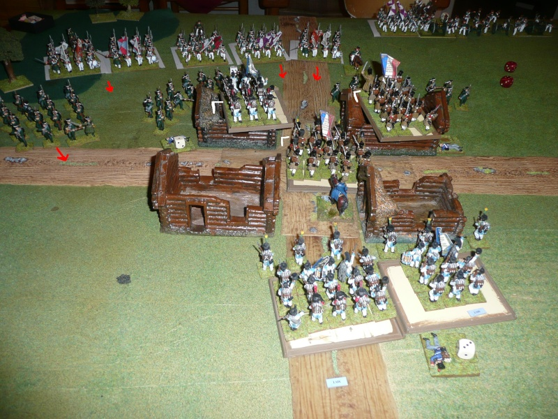 Bicentenaire campagne 1812 - contre attaque russe à Kaslékouyé P1070351