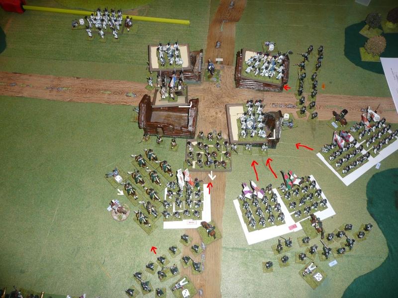 Bicentenaire campagne 1812 - contre attaque russe à Kaslékouyé P1070352