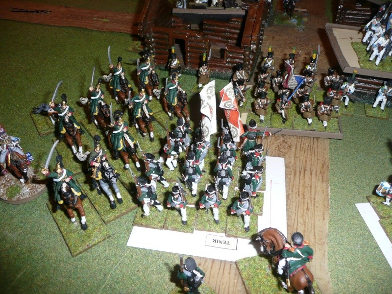 Bicentenaire campagne 1812 - contre attaque russe à Kaslékouyé P1070353