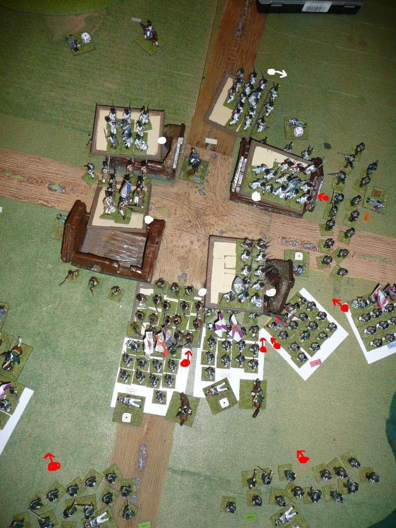 Bicentenaire campagne 1812 - contre attaque russe à Kaslékouyé P1070354