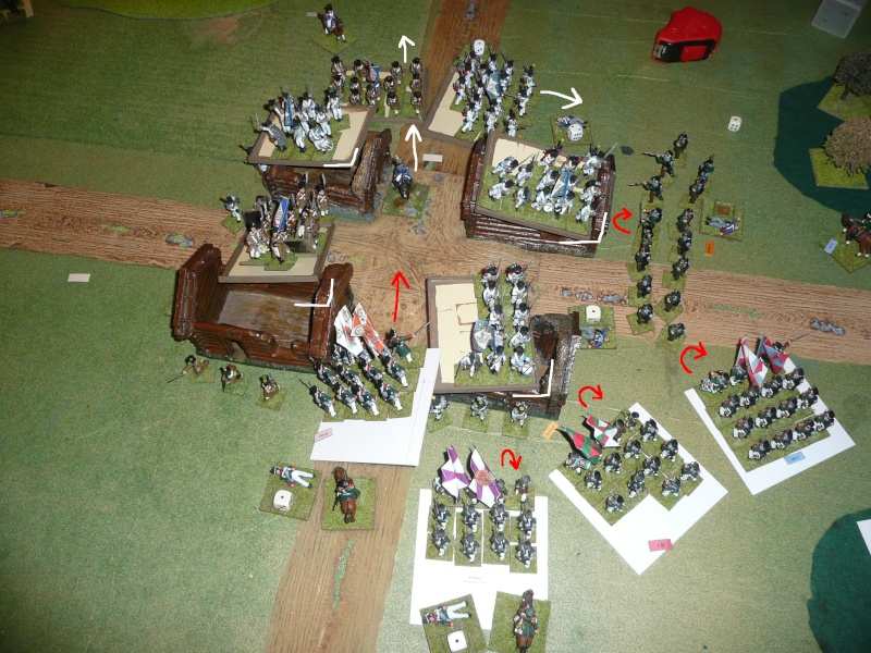 Bicentenaire campagne 1812 - contre attaque russe à Kaslékouyé P1070355