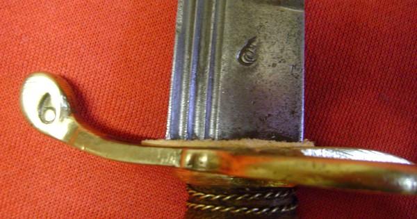 Restauration d'un sabre d'Afrique du nord. Dsc01711