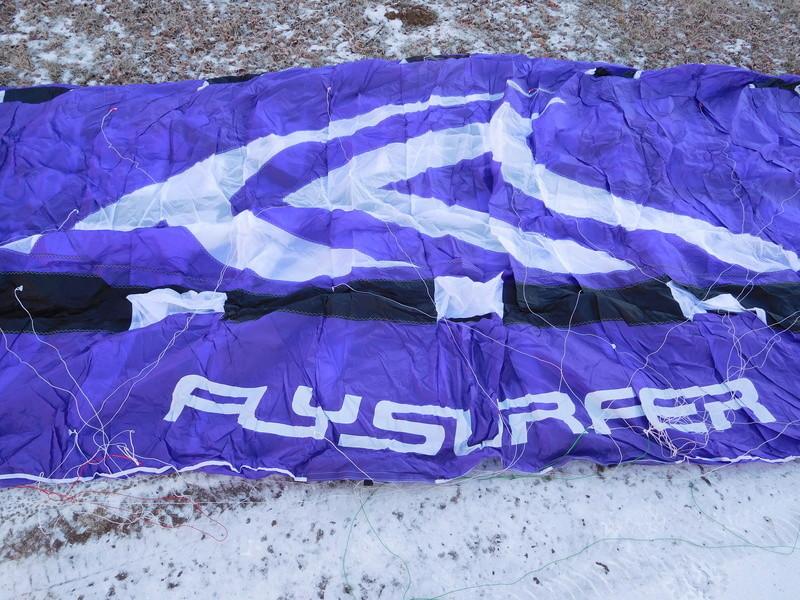 flysurfer speed 3 19 dlx purple ( VENDUE ) Dscn0614