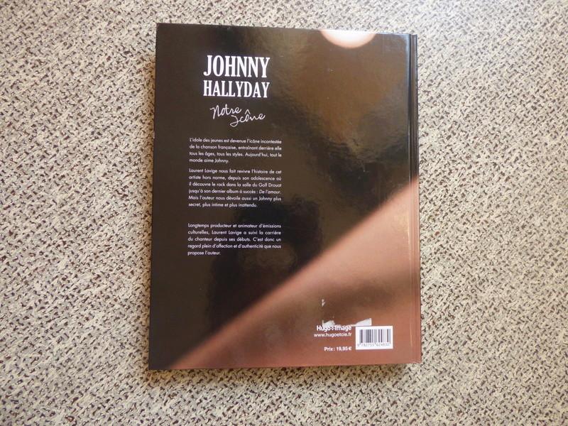 [livre] Johnny Hallyday notre icône P1070710