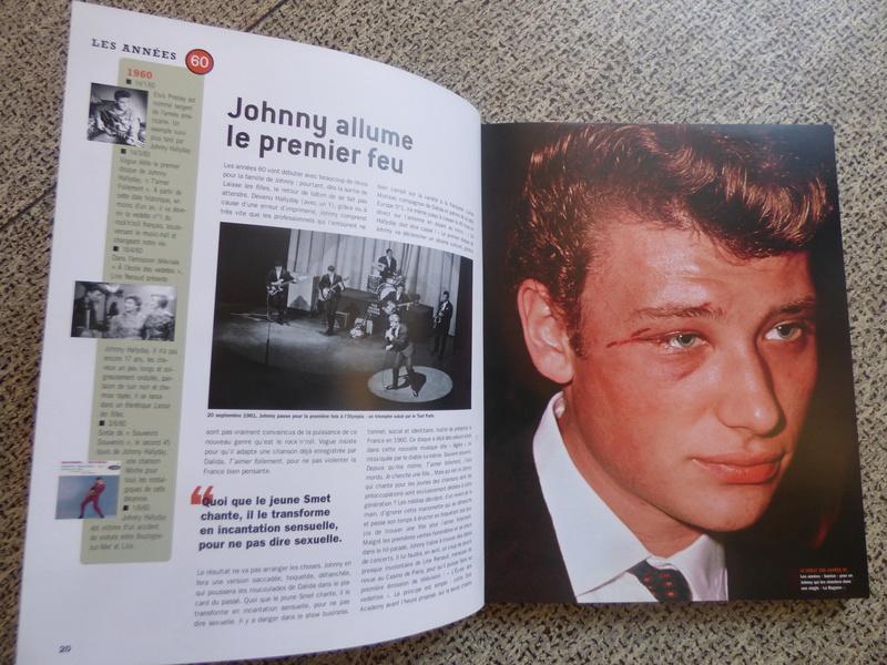 [livre] Johnny Hallyday notre icône P1070720