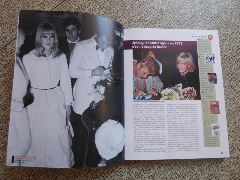 [livre] Johnny Hallyday notre icône P1070722