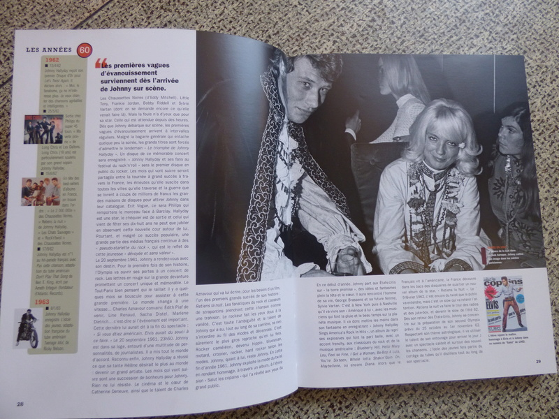 [livre] Johnny Hallyday notre icône P1070726