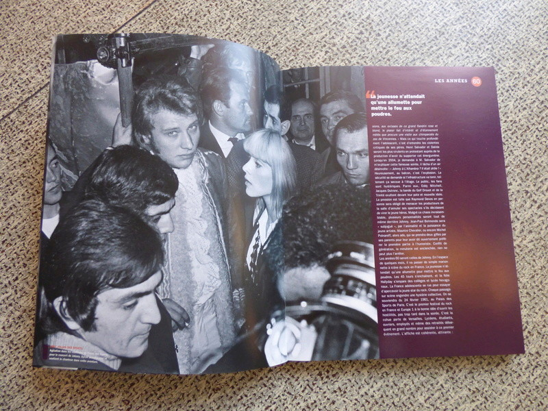 [livre] Johnny Hallyday notre icône P1070727