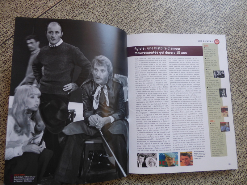 [livre] Johnny Hallyday notre icône P1070728