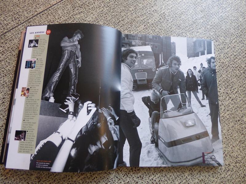 [livre] Johnny Hallyday notre icône P1070732
