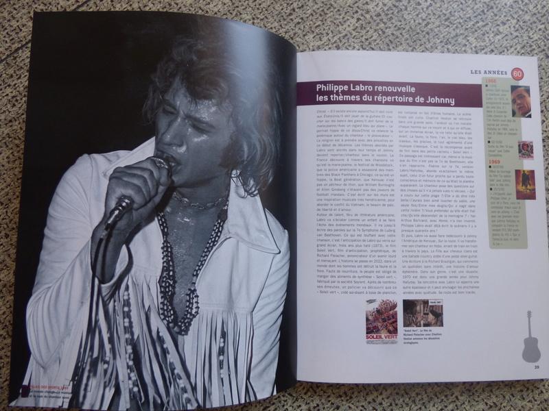[livre] Johnny Hallyday notre icône P1070733
