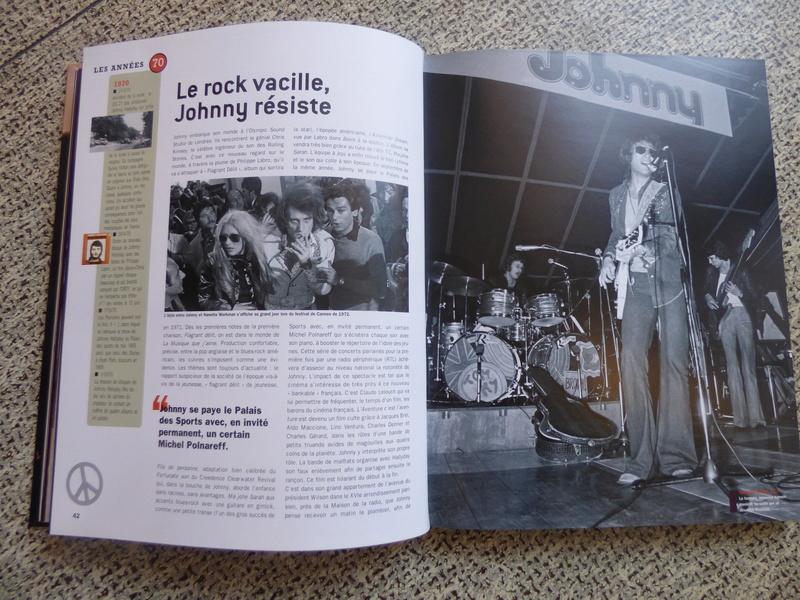 [livre] Johnny Hallyday notre icône P1070734