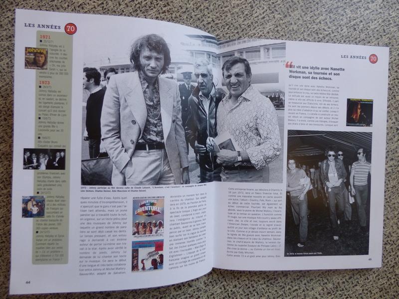 [livre] Johnny Hallyday notre icône P1070735