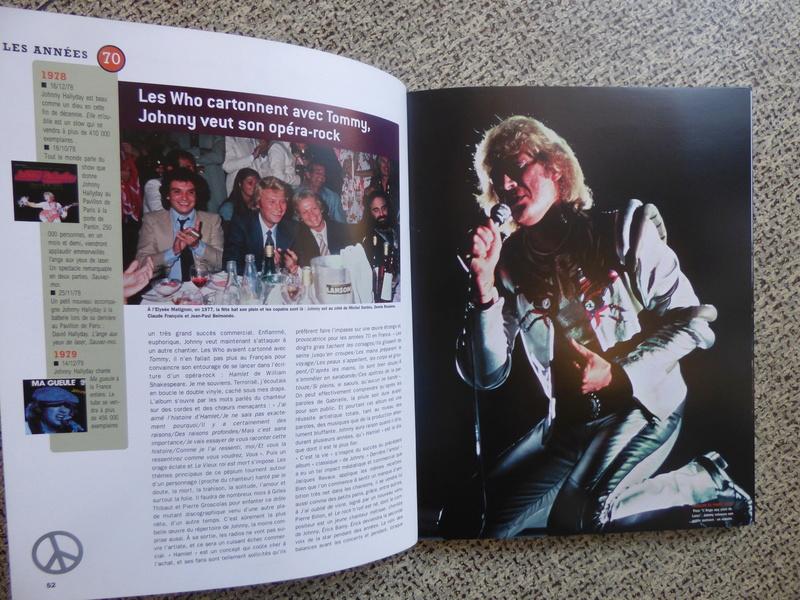 [livre] Johnny Hallyday notre icône P1070736