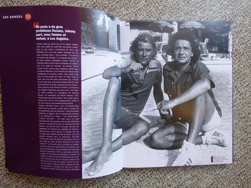 [livre] Johnny Hallyday notre icône P1070738