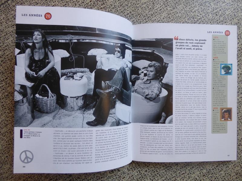 [livre] Johnny Hallyday notre icône P1070739