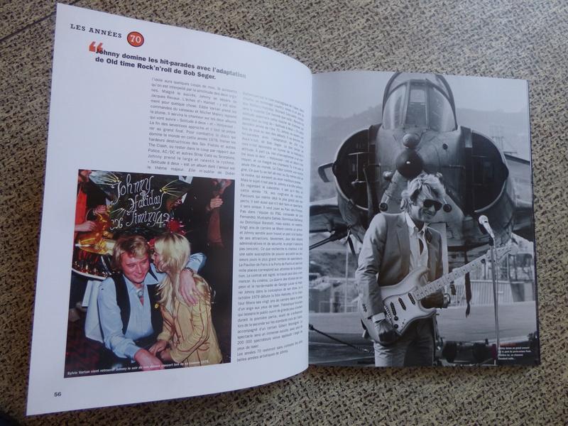[livre] Johnny Hallyday notre icône P1070743