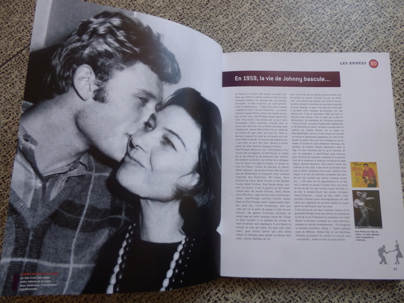 [livre] Johnny Hallyday notre icône P1070751