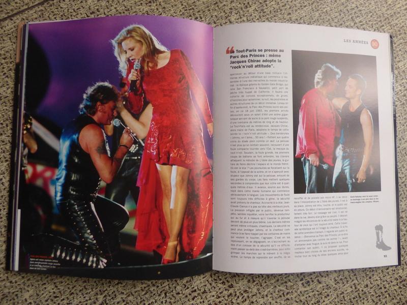 [livre] Johnny Hallyday notre icône P1070759