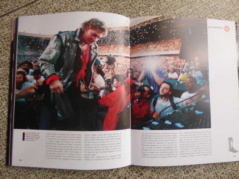 [livre] Johnny Hallyday notre icône P1070762