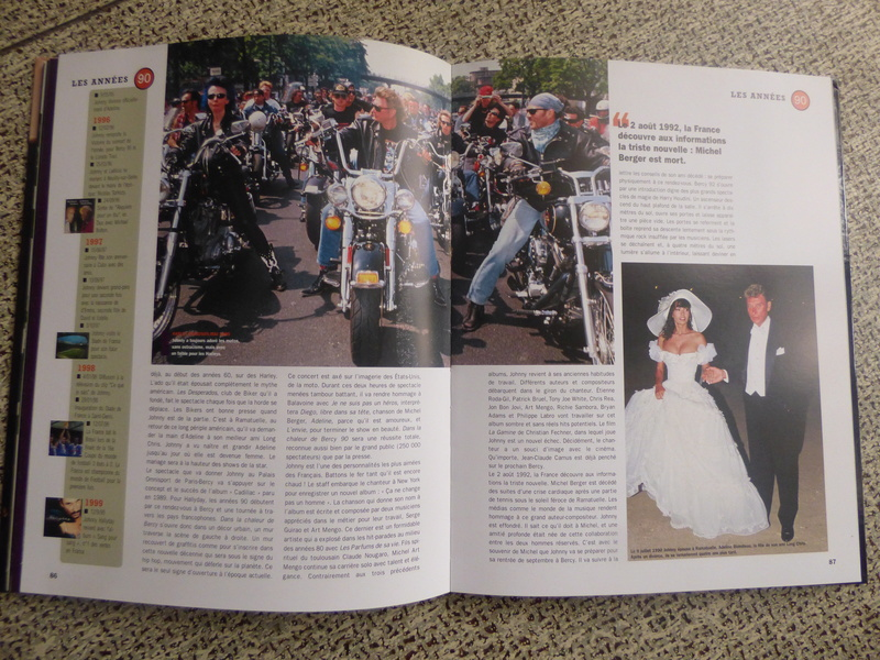 [livre] Johnny Hallyday notre icône P1070763
