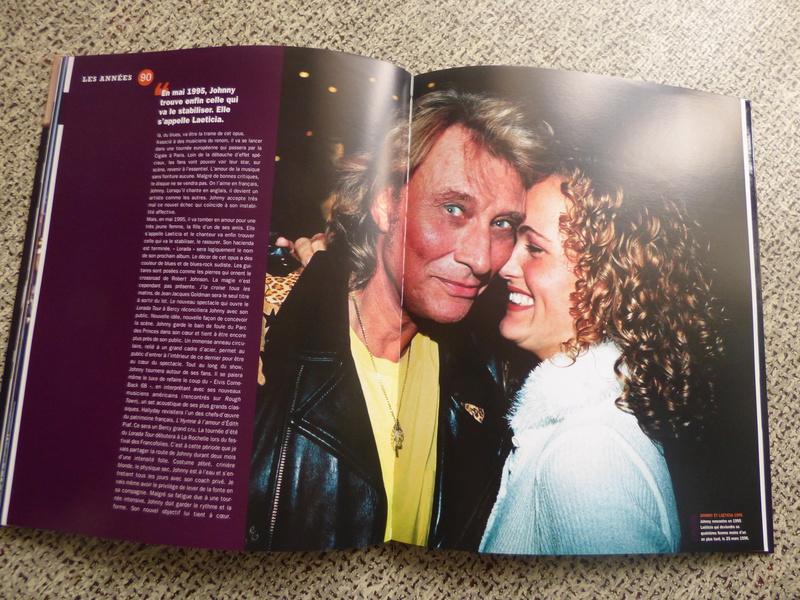 [livre] Johnny Hallyday notre icône P1070765