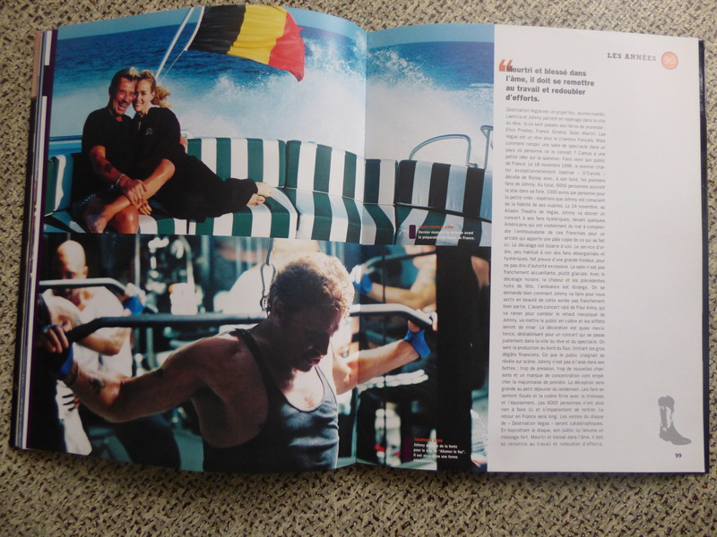 [livre] Johnny Hallyday notre icône P1070766