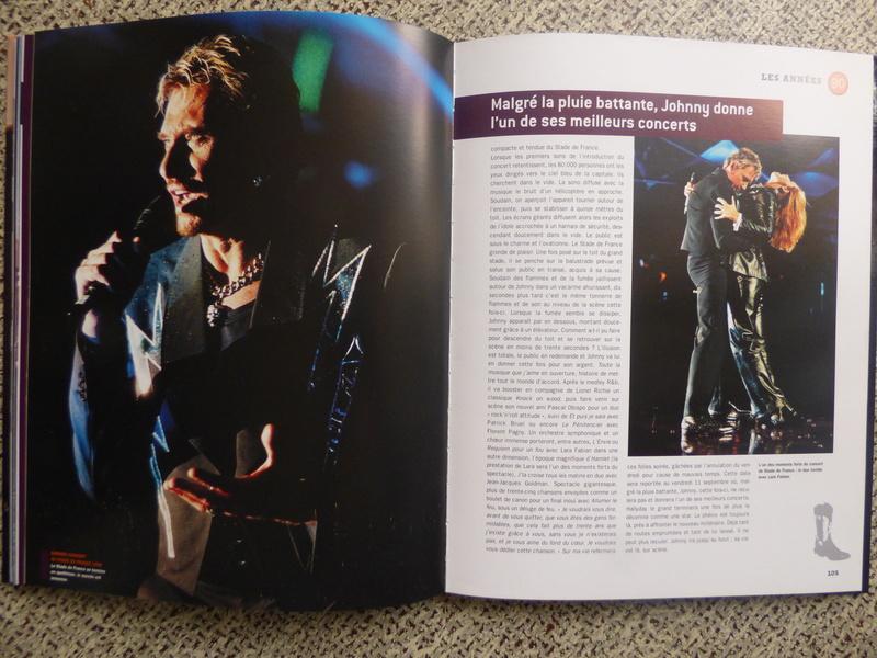 [livre] Johnny Hallyday notre icône P1070810
