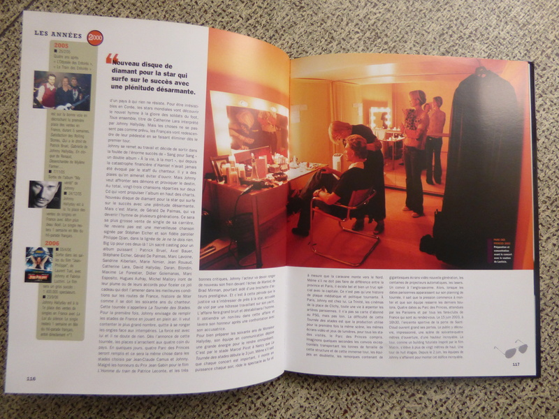 [livre] Johnny Hallyday notre icône P1070816